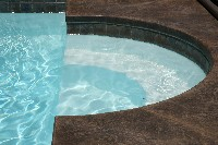 Caesars Palace Fiberglass Pool and Spa in Forked River, NJ