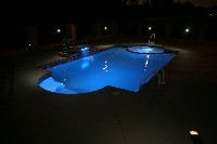 Caesars Palace Fiberglass Pool and Spa in Beach Haven, NJ